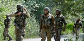 search operation j&k, army