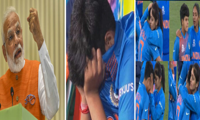 Shafali Verma breaks down after World Cup final loss, Narendra Modi consoles her