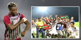 Sony norde congraulate Mohun Bagan after winning I-League