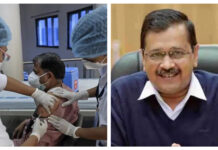 kejriwal and corona vaccination