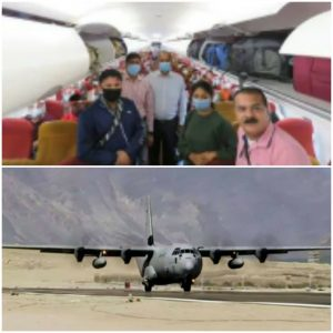INDIAN AIR FORCE BRINGS BACK 85 INDIANS THIS MORNING