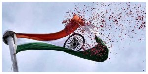 And the plastic national flag can no longer be used, the big move central before Independence Day