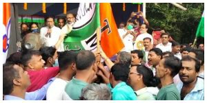 join TMC from different political parties holding the hand of MLA