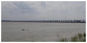 More than one area was flooded as all the gates of Farakka were opened