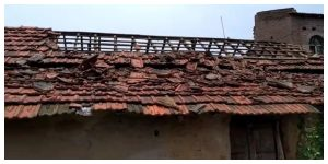The bomb was stored in the house! The roof of the BJP worker's house exploded