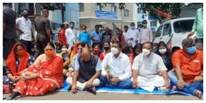 The vaccination center should be expanded in Asansol, demanded Jitendra Tiwari