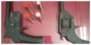 Weapons smugglers in STF nets, huge quantity of firearms recovered