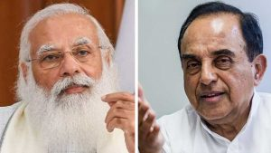 """""""MODI IS NOT THE KING OF INDIA"""" SAYS SUBRAMANIAM SWAMY"""