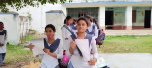 FINALLY STUDENTS GOT THEIR RESULT CARDS OF THE HIGHER SECONDARY EXAMINATION
